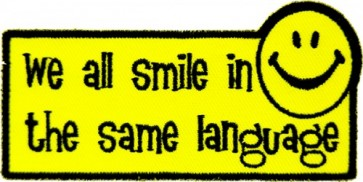 We All Smile In The Same Language Patch, Sayings Patches