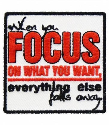 When You Focus Everything Falls Patch, Uplifting Patches
