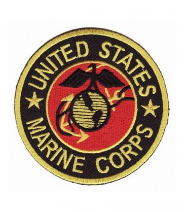 US Marine Corps Round Patch, Marines Patches