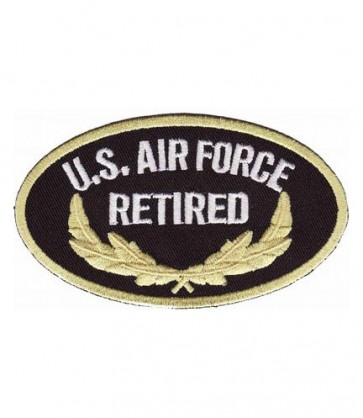 Air Force Retired Oval Patch, U.S. Air Force Patches