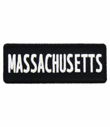 Massachusetts State Patch, 50 United States Patches