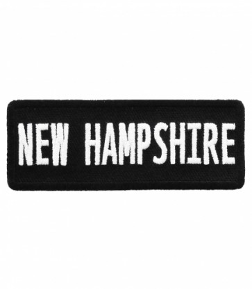 New Hampshire State Patch, 50 United States Patches