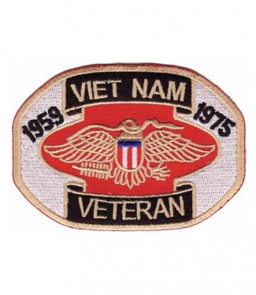 Vietnam Veteran 1959-1975 Eagle Patch, Military Patches