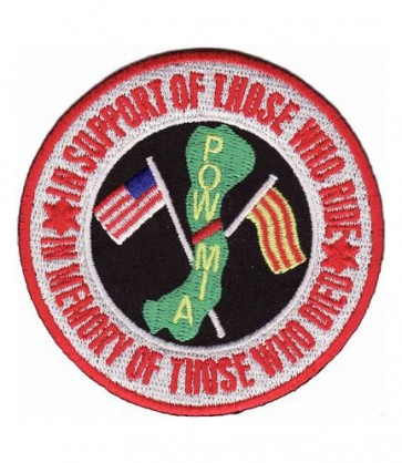 In Support In Memory POW MIA Patch, Vietnam Patches