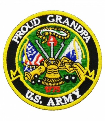 U.S. Army Proud Grandpa Patch, Military Patches