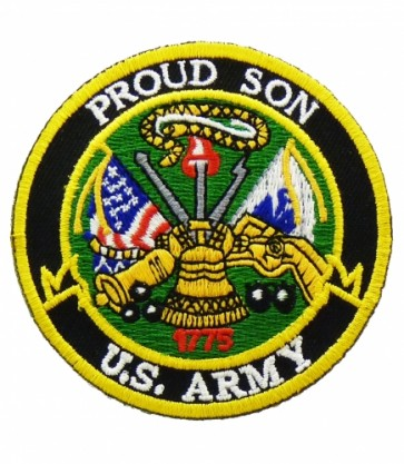 U.S. Army Proud Son Patch, Military Patches