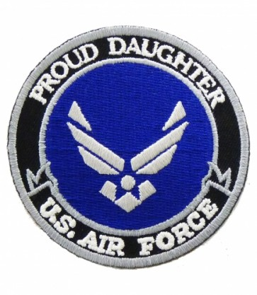 U.S. Air Force Proud Daughter Patch, Military Patches