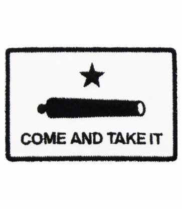 Come And Take It Gonzalez Cannon Patch, Patriotic Patches