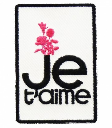 Je T'aime I Love You Patch, Ladies Patches