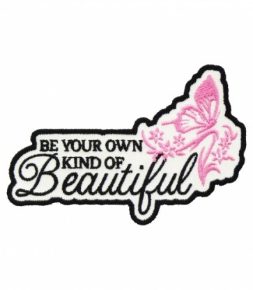 Be Your Own Beautiful Butterfly Patch, Ladies Patches