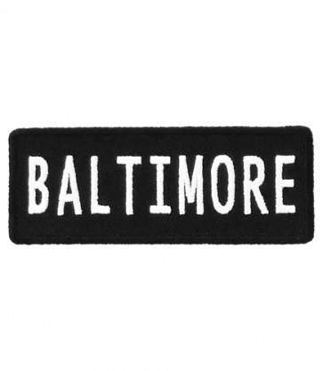 Baltimore Maryland Patch, Major US City Patches