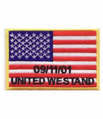United We Stand 9-11 American Flag, U.S. Flag Patches