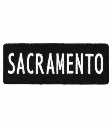 Sacramento California Patch, Major US City Patches