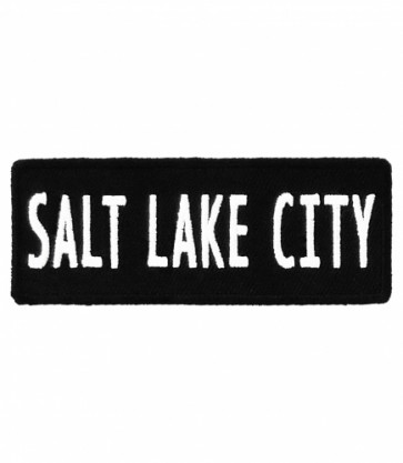 Salt Lake City Utah Patch, Major US City Patches
