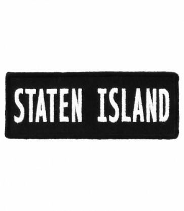 Staten Island New York City Patch, Major US City Patches