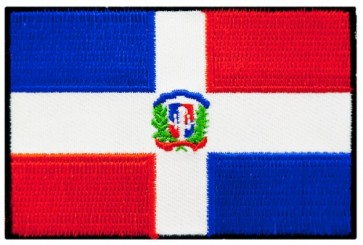 Dominican Republic Flag Patch, Dominican Patches