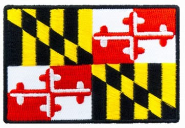 Maryland State Flag Patch, Maryland Flag Patches
