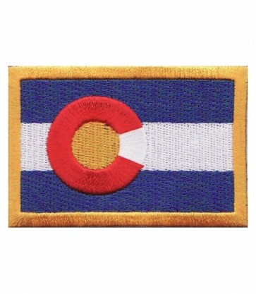 Colorado State Flag Patch, 50 State Flag Patches