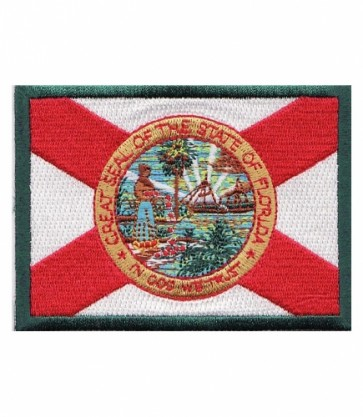 Florida State Flag Patch, 50 State Flag Patches