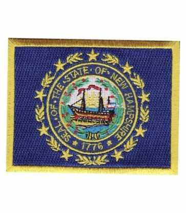 New Hampshire State Flag Patch, 50 State Flag Patches