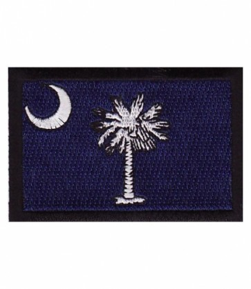 South Carolina Flag Patch, 50 State Flag Patches