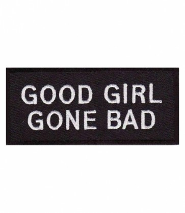 Good Girl Gone Bad Patch, Women's Biker Patches