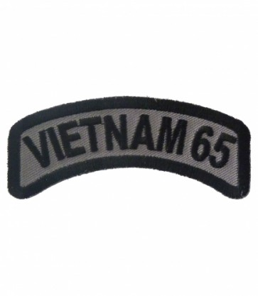 Vietnam 65 Rocker Patch, Vietnam Veteran Patches