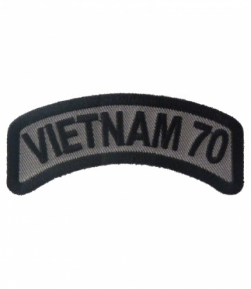 Vietnam 70 Rocker Patch, Vietnam Veteran Patches