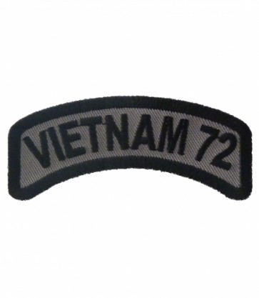 Vietnam 72 Rocker Patch, Vietnam Veteran Patches