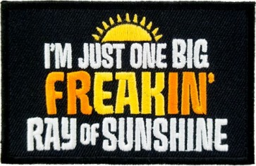 One Big Ray of Sunshine Patch, Funny Patches