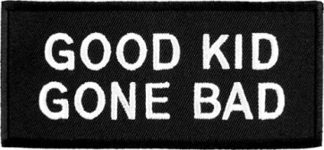 Good Kid Gone Bad Patch, Kids Biker Patches