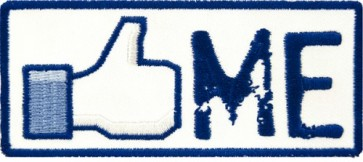 Like Me Thumbs Up Patch, Funny Patches