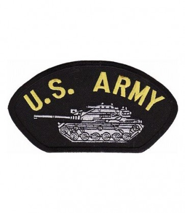 U.S. Army Tank Hat Patch, Military Cap Patches