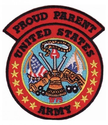 Army Proud Parent Patch, U.S. Army Patches
