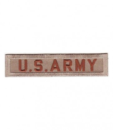 U.S. Army Desert Tan Tab Patch, U.S. Army Patches