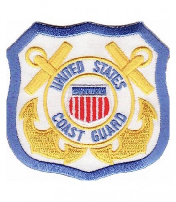 U.S. Coast Guard Logo Patch, Coast Guard Patches
