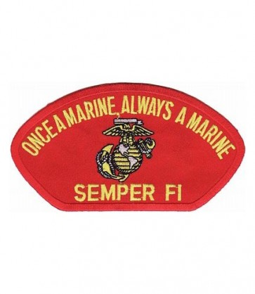Marines Semper Fi Hat Patch, Military Cap Patches