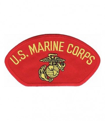 U.S. Marine Corps Red Hat Patch, Military Cap Patches