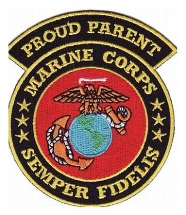 Marines Proud Parent Patch, U.S. Marines Patches