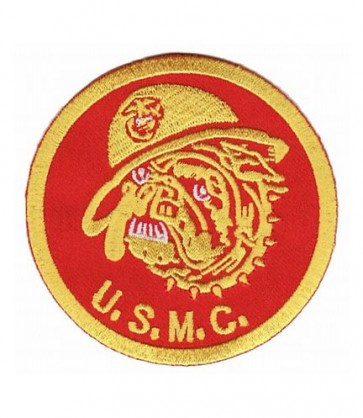 United States Marines Bulldog Patch, Military Patches