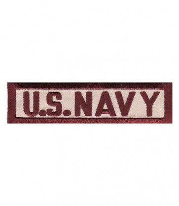 U.S. Navy Tan Tab Patch, Military Insignia Patches