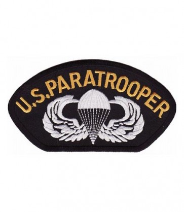U.S. Paratrooper Hat Patch, Military Cap Patches