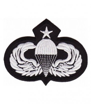 Senior Paratrooper Wings Patch, Paratrooper Patches