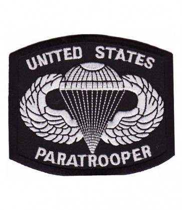 United Stated Paratrooper Parachute Patch, Military Patches