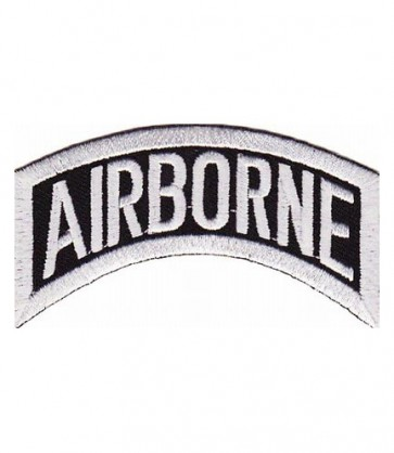 Army Airborne Rocker Tab Patch, U.S. Army Patches