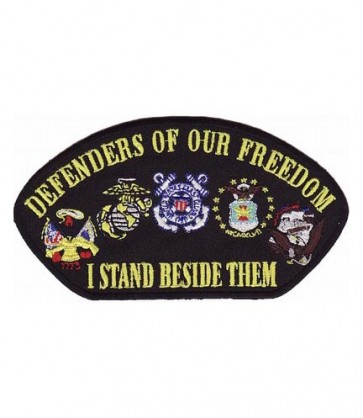 Defenders of Our Freedom Hat Patch, Military Cap Patches