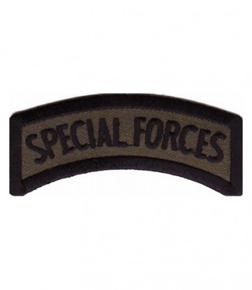 Army Special Forces Rocker Tab Patch, Military Patches