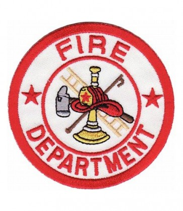 Fire Department White Patch, Fire Department Patches