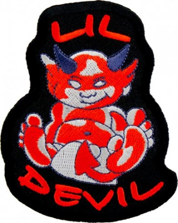 Lil Devil In Diaper Patch, Children's Biker Patches