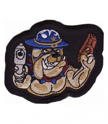 Sheriff Bulldog Patch, Law Enforcement Patches